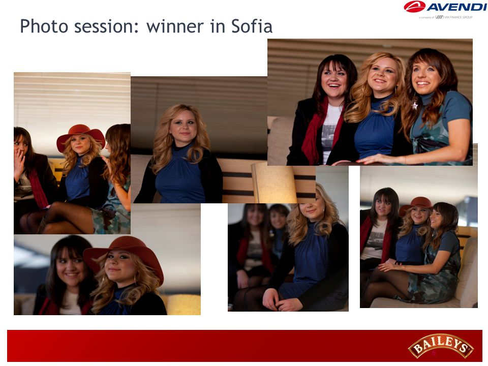 6 Photo session: winner in Sofia