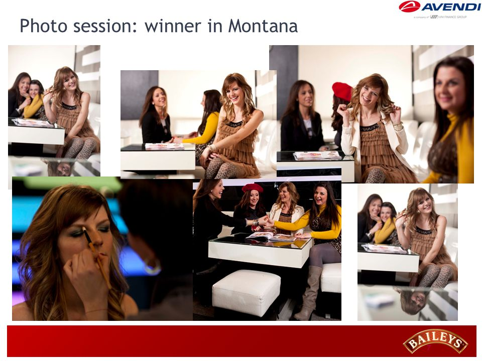 7 Photo session: winner in Montana