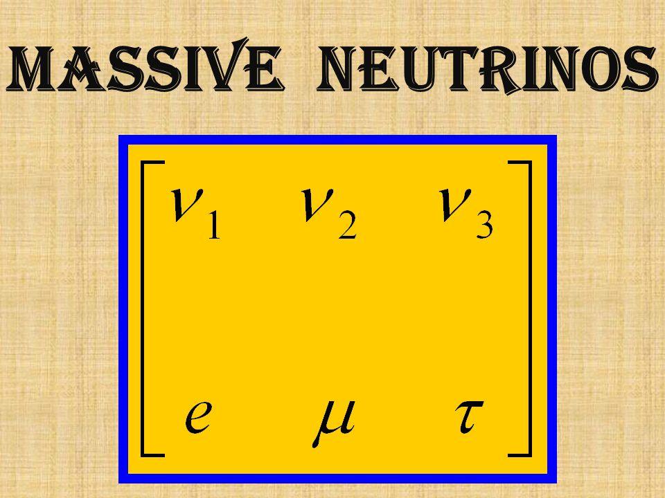 massive neutrinos