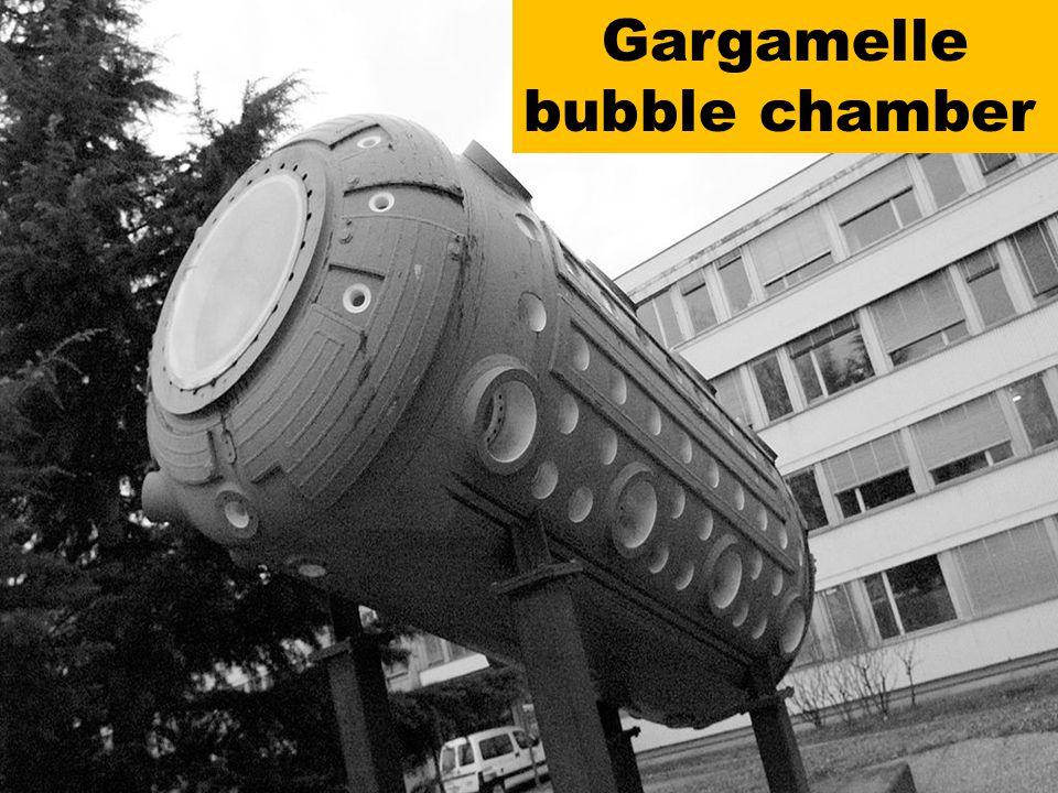 Gargamelle bubble chamber