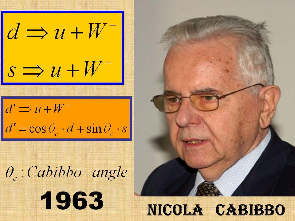 Nicola Cabibbo 1963