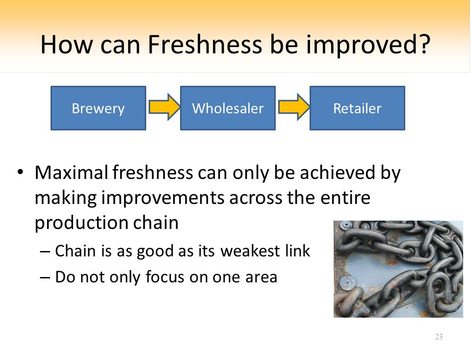 How can Freshness be improved.