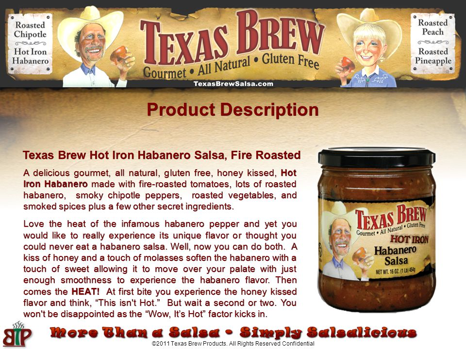 ©2011 Texas Brew Products.