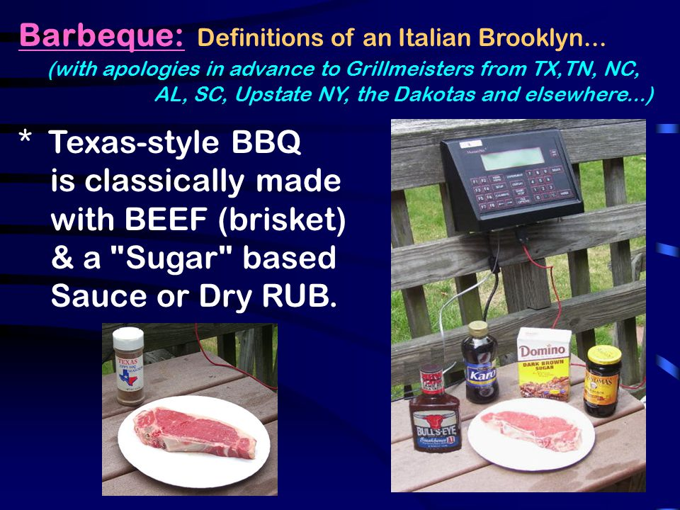 Barbeque: Definitions of an Italian Brooklyn...