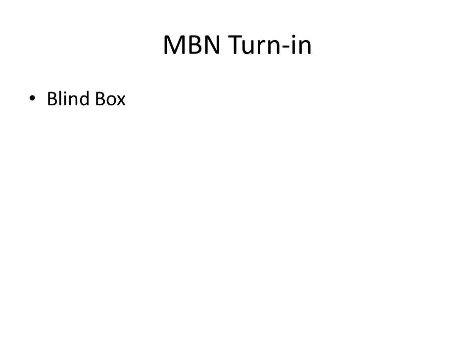 MBN Turn-in Blind Box