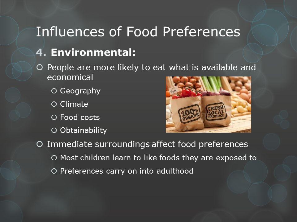 Overcoming Taste/Food Bias  Evaluating food goes far beyond like or dislike  Train your taste buds  Taste is a mental exercise  Use culinary terminology  Interpret food; don't just eat it