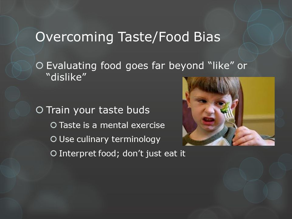 Scientifically testing food using the 5 basic senses: 1.Sight o Appearance 2.Touch o Texture 3.Hearing (not a main sensory characteristic) 4.Smell o Aroma 5.Taste o Flavor