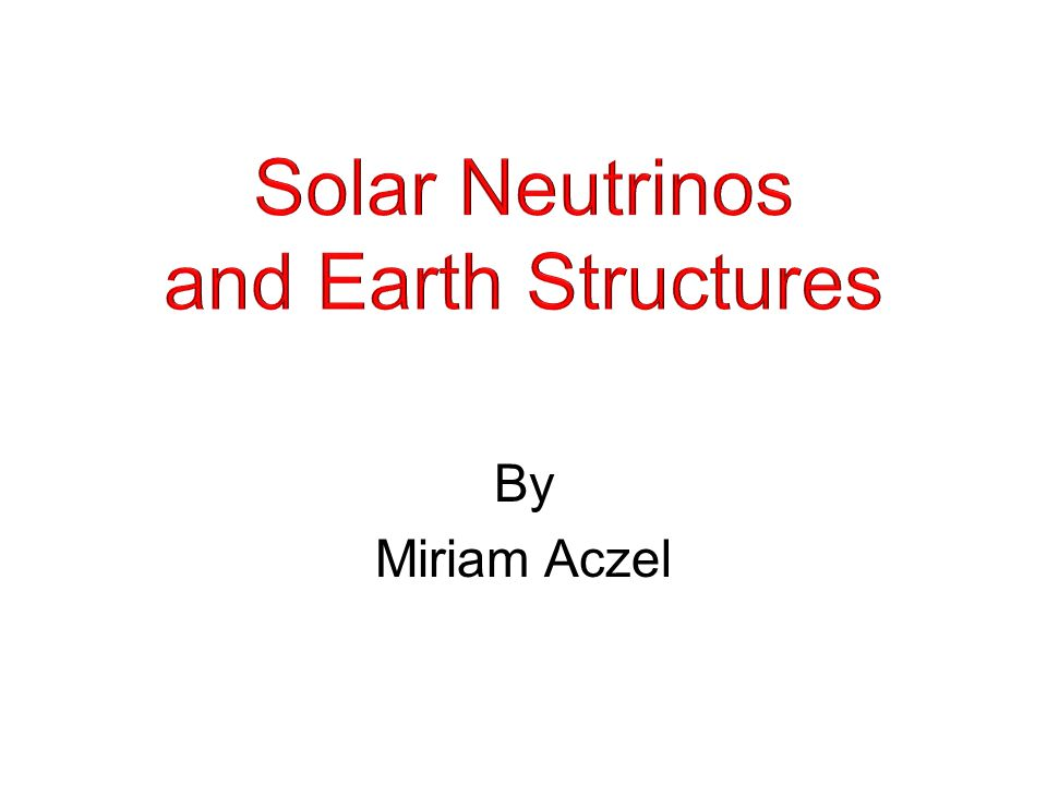 What are neutrinos.