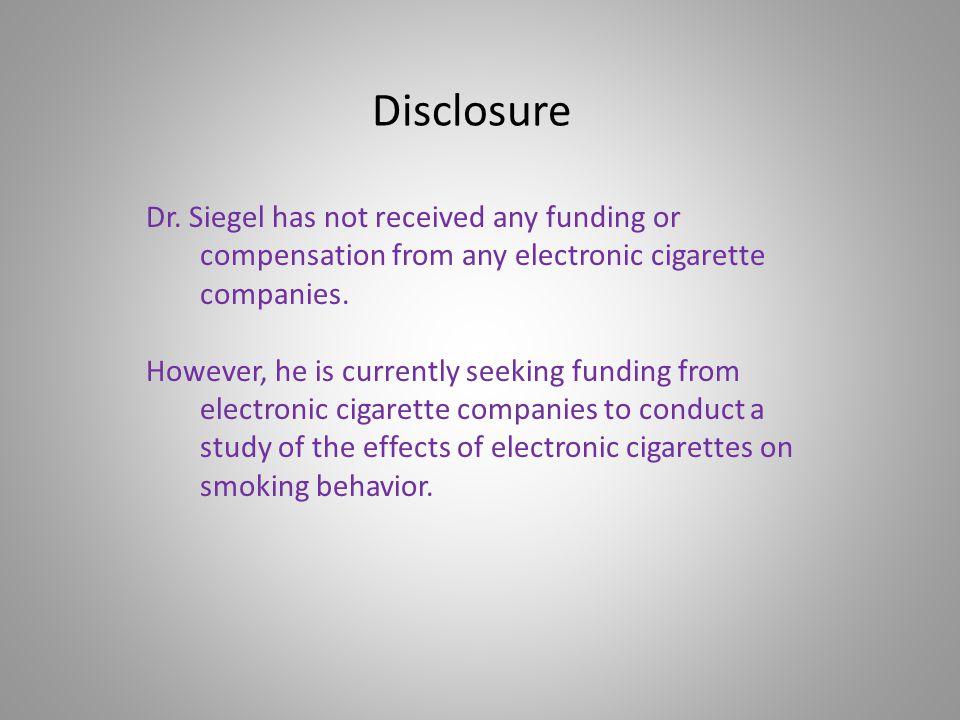 Disclosure Dr.