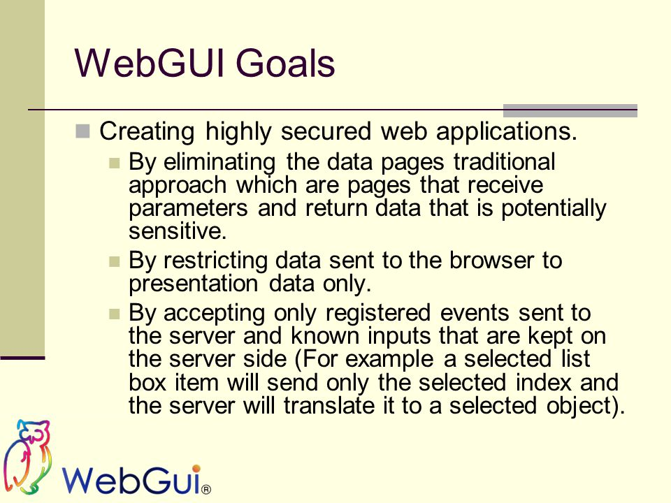 WebGui Tracing WebGui Tracing mode is defined in the trace section: The mode attribute can be either On or Off .