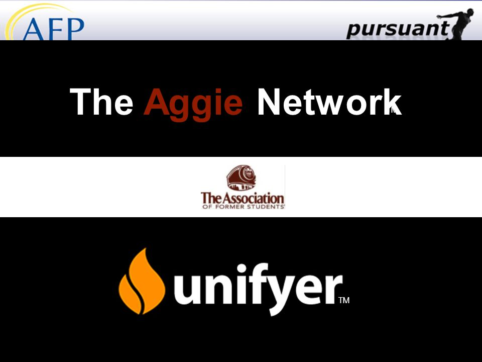 The Aggie Network TM