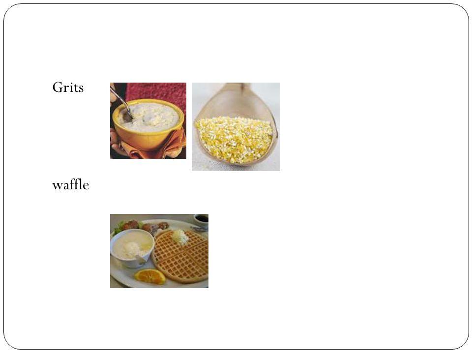 Grits waffle