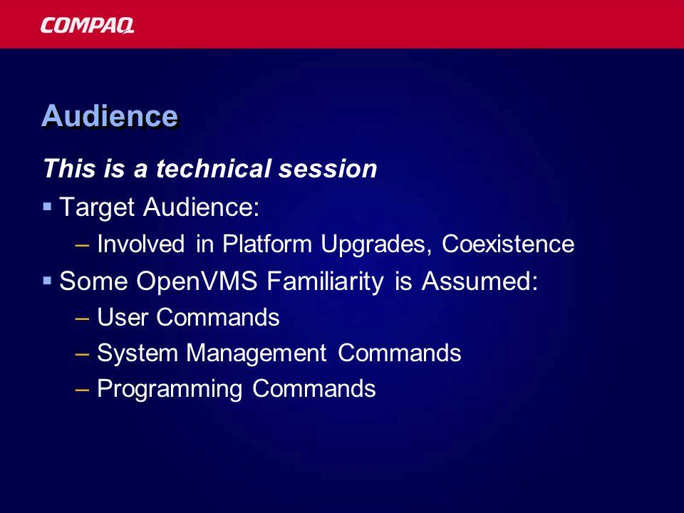 Compaq Enterprise Technical Symposium 2001 Applications Construction and Verification