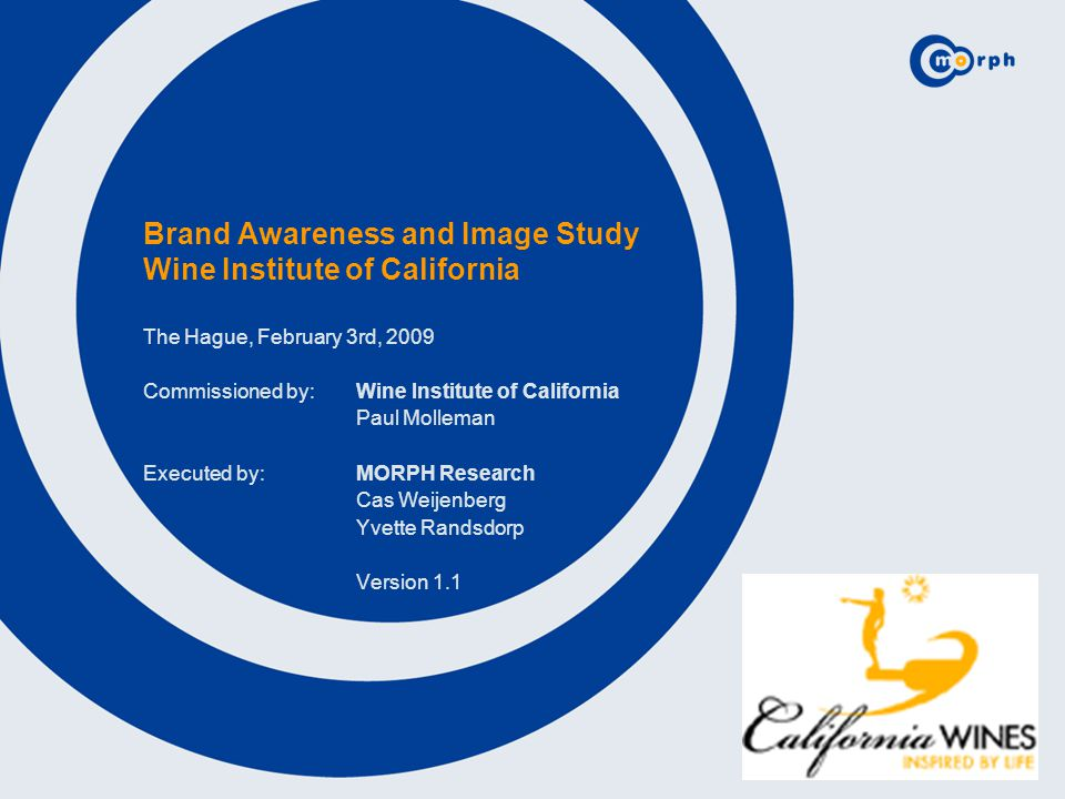 23 California is the best known New World wine country among the German, Polish and Swiss respondents (83%, 69%, 91%).