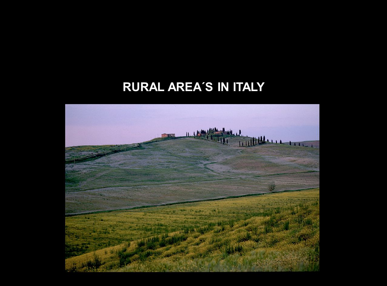 RURAL AREA´S IN ITALY