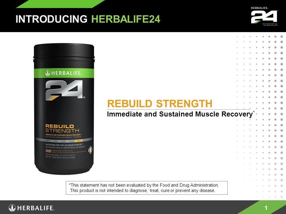 12 Herbalife24 is a comprehensive nutrition line to meet the needs of an athlete 24-hours a day Being an Athlete Is a Lifestyle © 2011 Herbalife International of America, Inc.