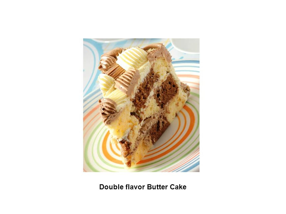 Double flavor Butter Cake