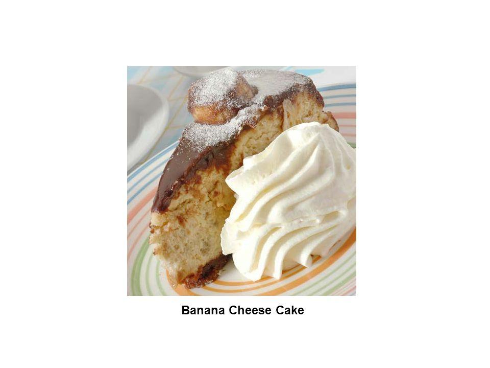 Banana Cheese Cake