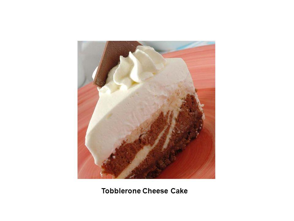 Tobblerone Cheese Cake