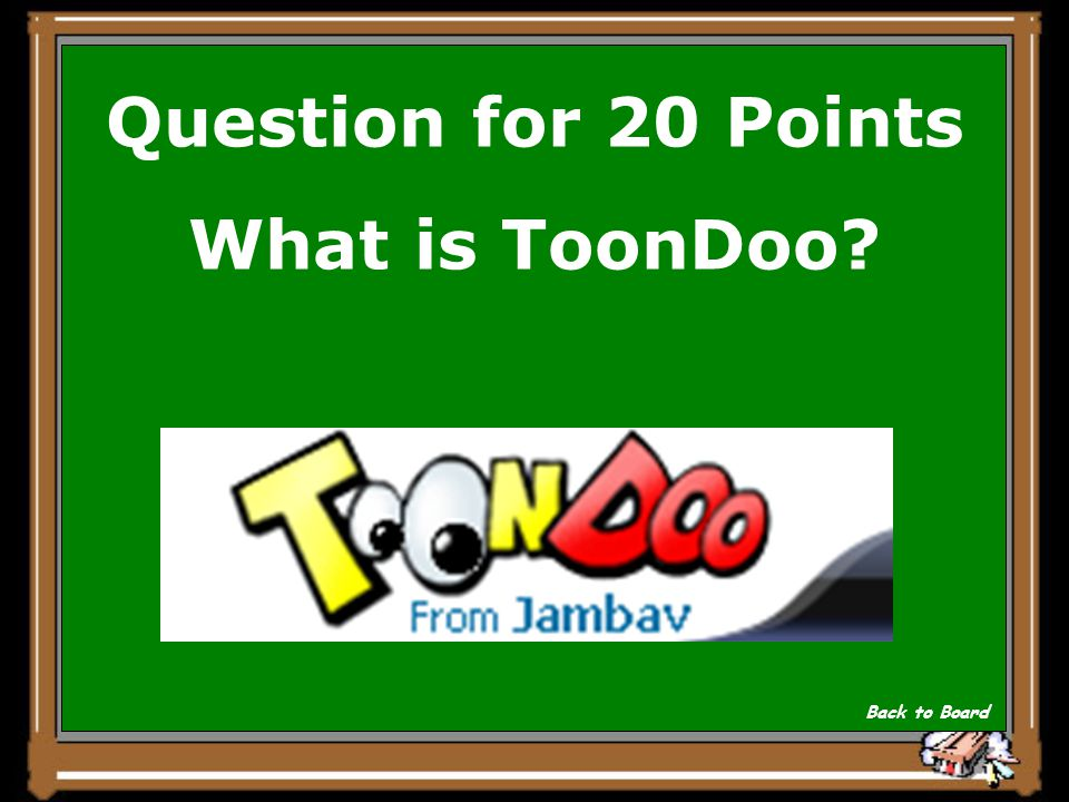 Answer for 20 Points This is one of several sites that allows users to build their own comic strips.