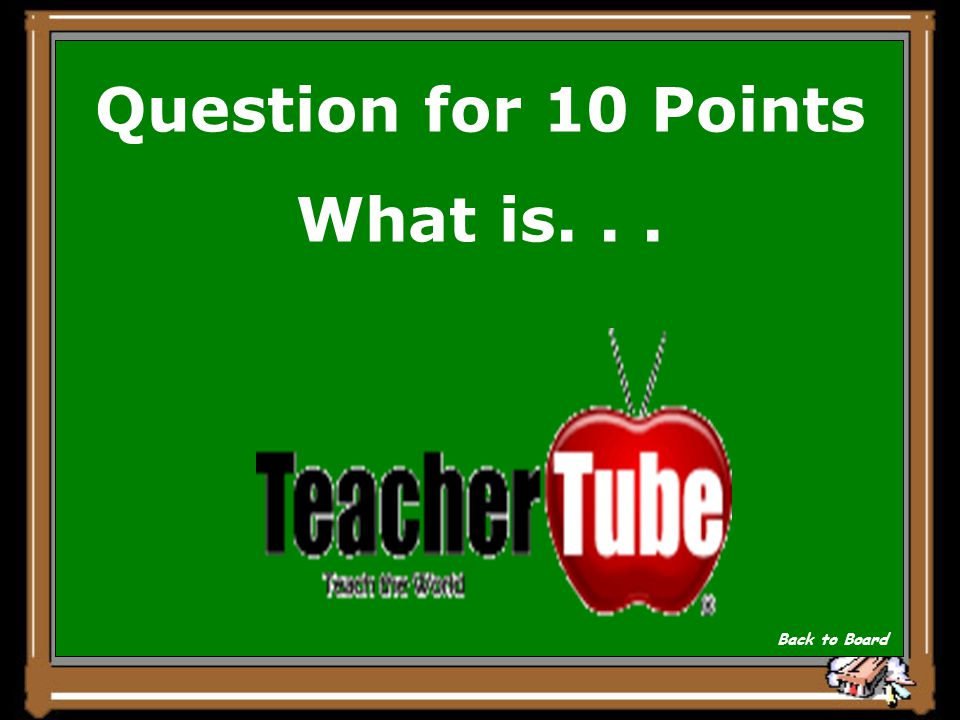 Answer for 10 Points Most schools do not block this educationally valuable Web 2.0 cousin to YouTube: Show Question