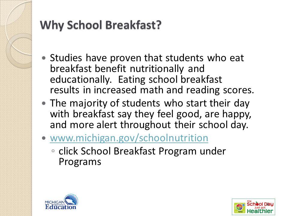 Why School Breakfast.