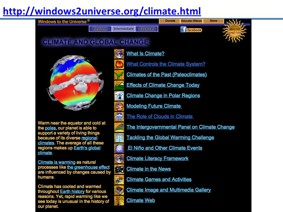http://windows2universe.org/climate.html
