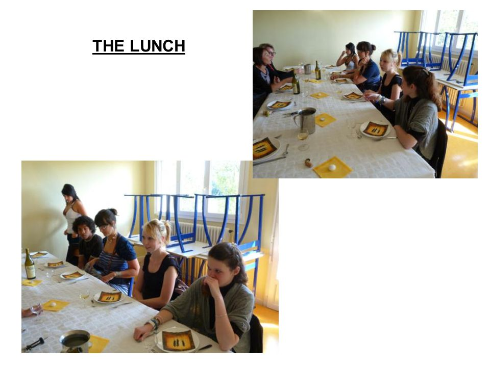 THE LUNCH