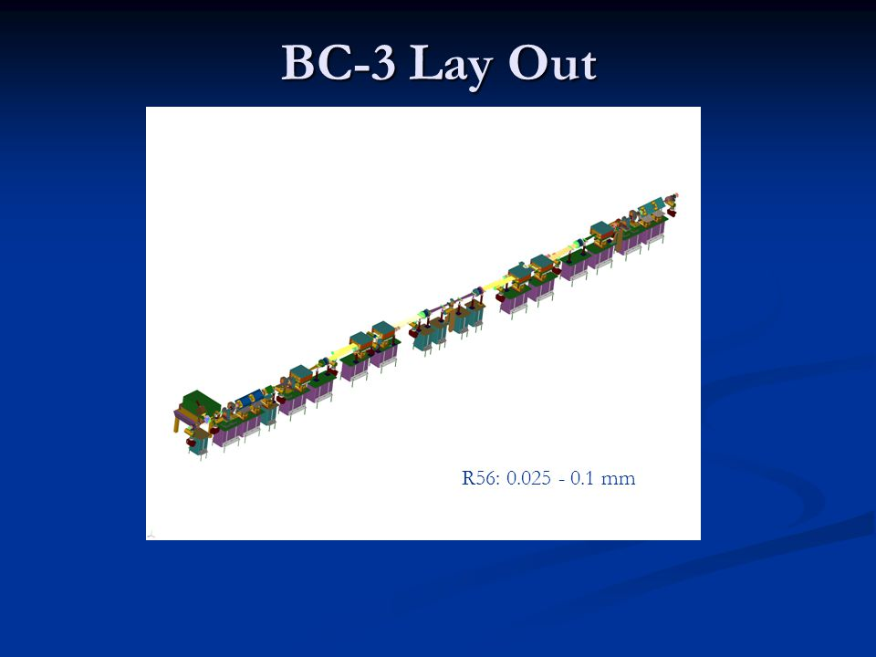 BC-3 Lay Out R56: 0.025 - 0.1 mm