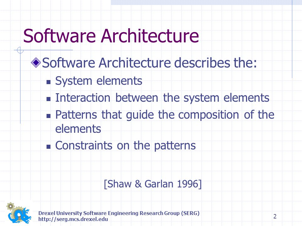 Drexel University Software Engineering Research Group (SERG) http://serg.mcs.drexel.edu 13 Concluding Remarks Distribution approach based on: Optimization of clustering approach Bunch's MVC Architecture Performance improved for large systems, further improvement still possible Future improvement based on additional implementation optimizations Bunch written in 100% Java, DBunch uses RMI/IIOP Infrastructure Visit Bunch Online: http://serg.mcs.drexel.edu/bunch