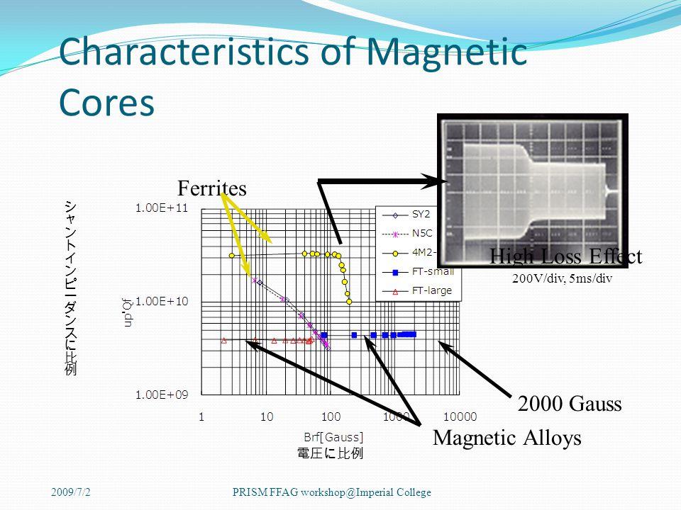 2009/7/2PRISM FFAG workshop@Imperial College