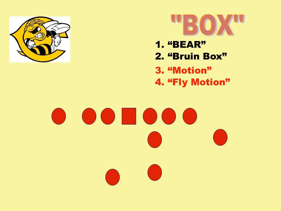 1. BEAR 2. Bruin Box 3. Motion 4. Fly Motion
