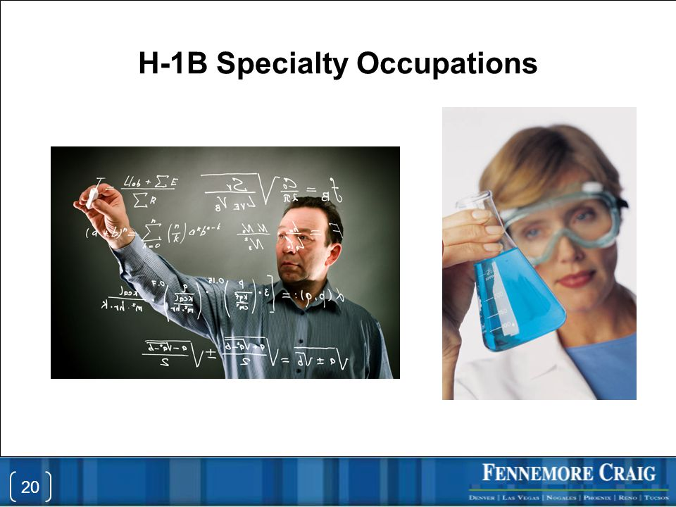 H-1B Specialty Occupations 20