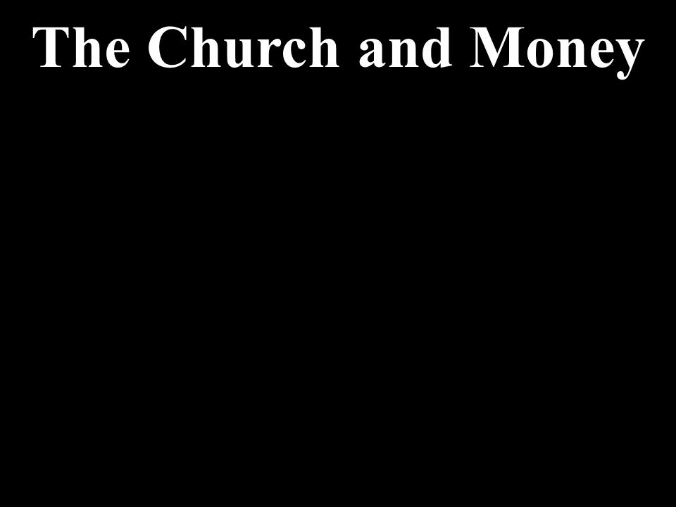 The Church and Money My Trip to Atlanta