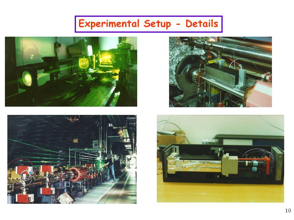 10 Experimental Setup - Details