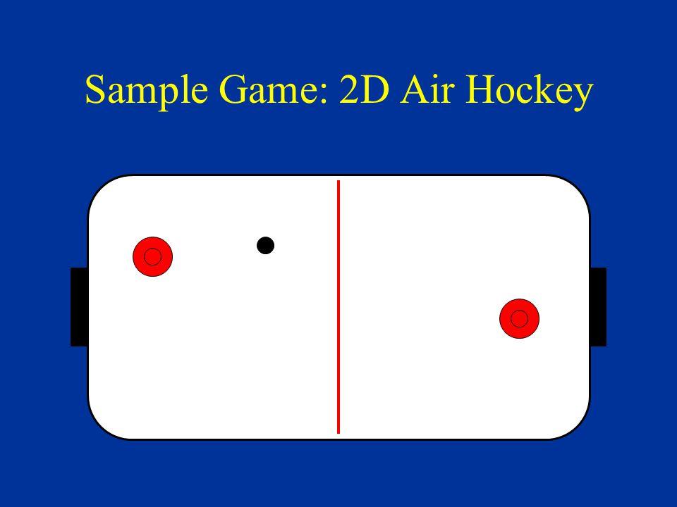 Sample Game: 2D Air Hockey