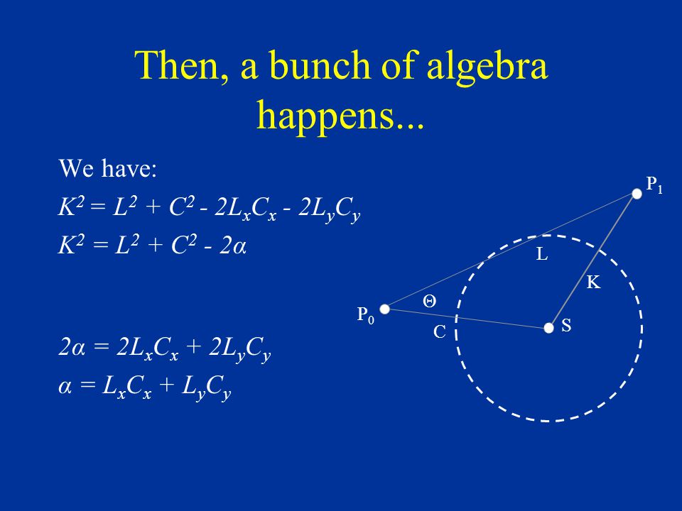 Then, a bunch of algebra happens...
