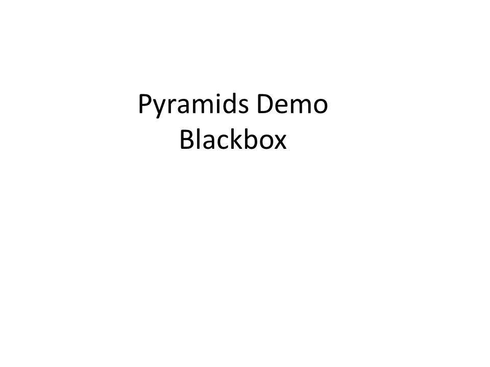 Pyramids Demo Blackbox
