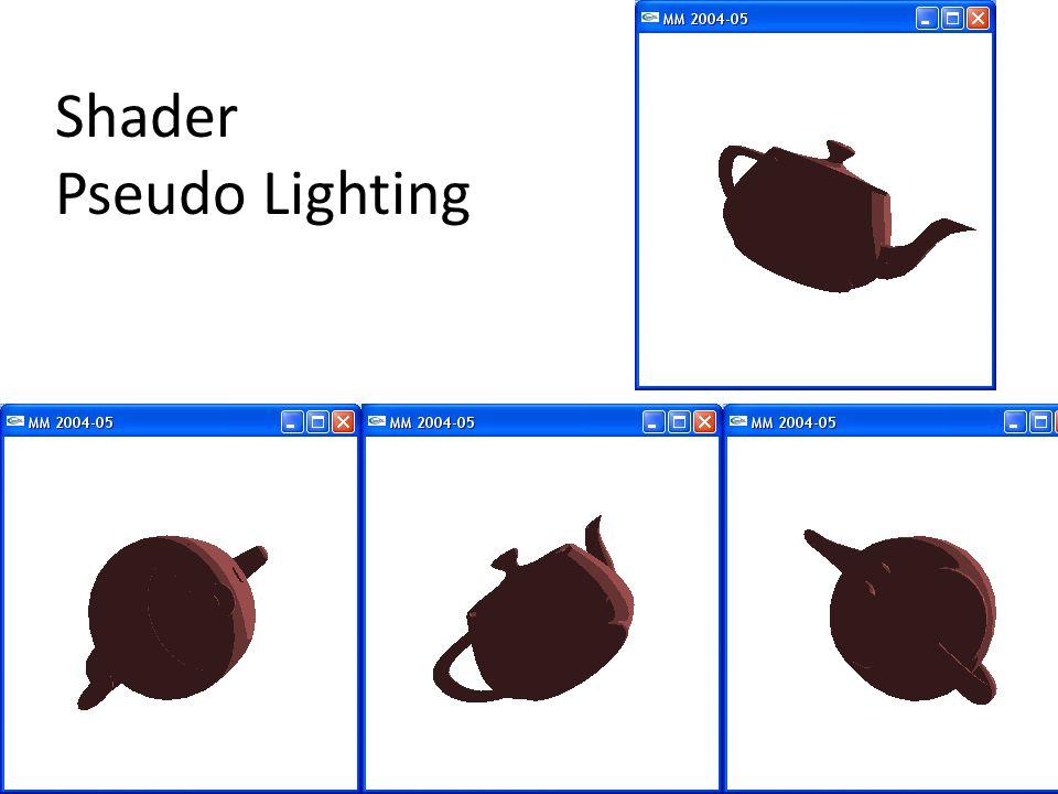 Shader Pseudo Lighting