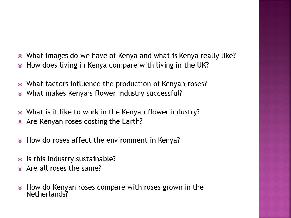  What images do we have of Kenya and what is Kenya really like.