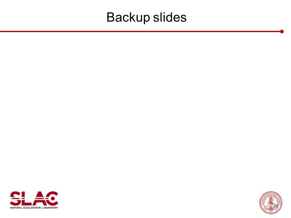 Backup slides 39