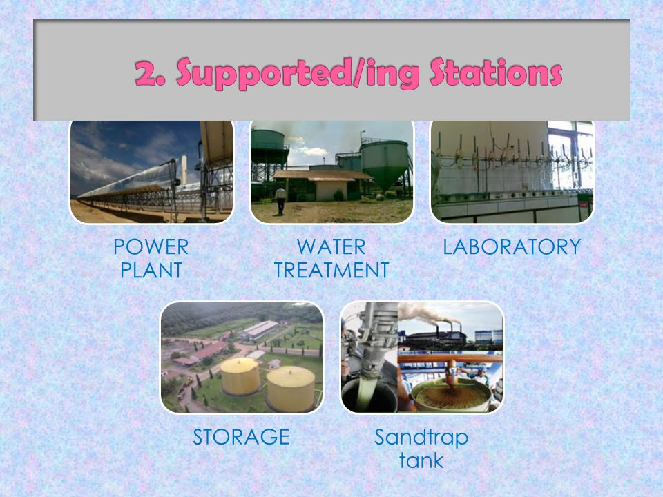 POWER PLANT WATER TREATMENT LABORATORY STORAGESandtrap tank