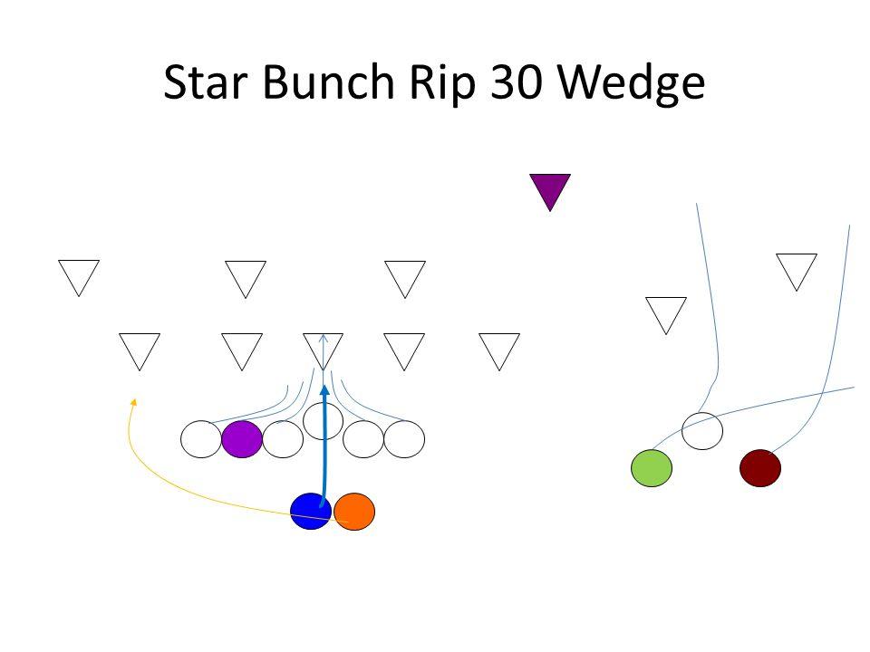 Star Bunch Rip 30 Wedge