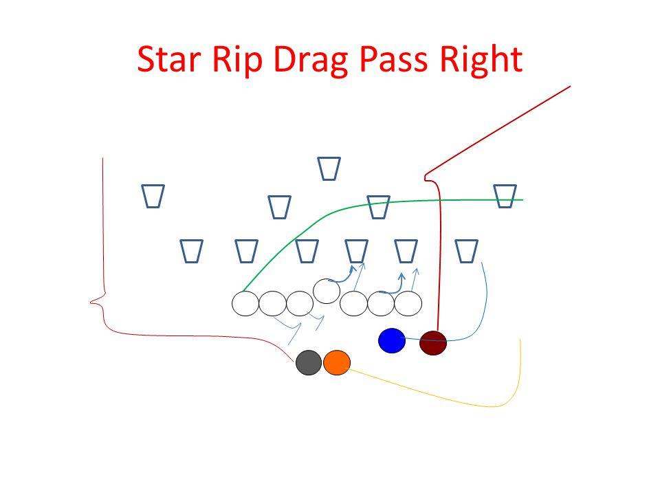 Star Rip Drag Pass Right