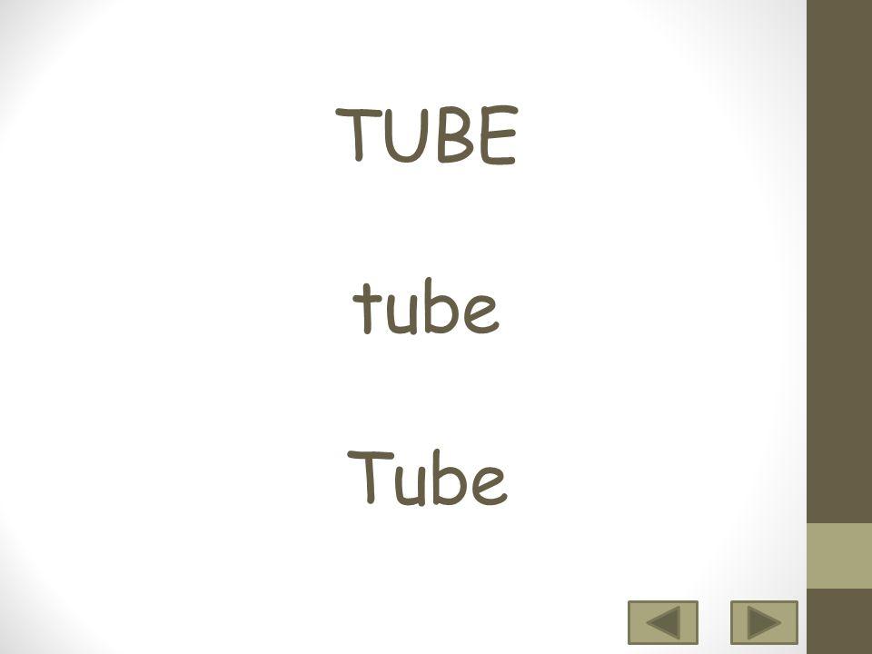 TUBE tube Tube 12 3456 7 8 9 10