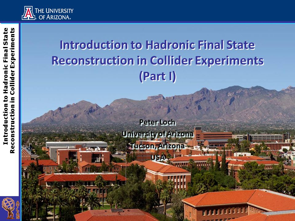 Introduction to Hadronic Final State Reconstruction in Collider Experiments Introduction to Hadronic Final State Reconstruction in Collider Experiment