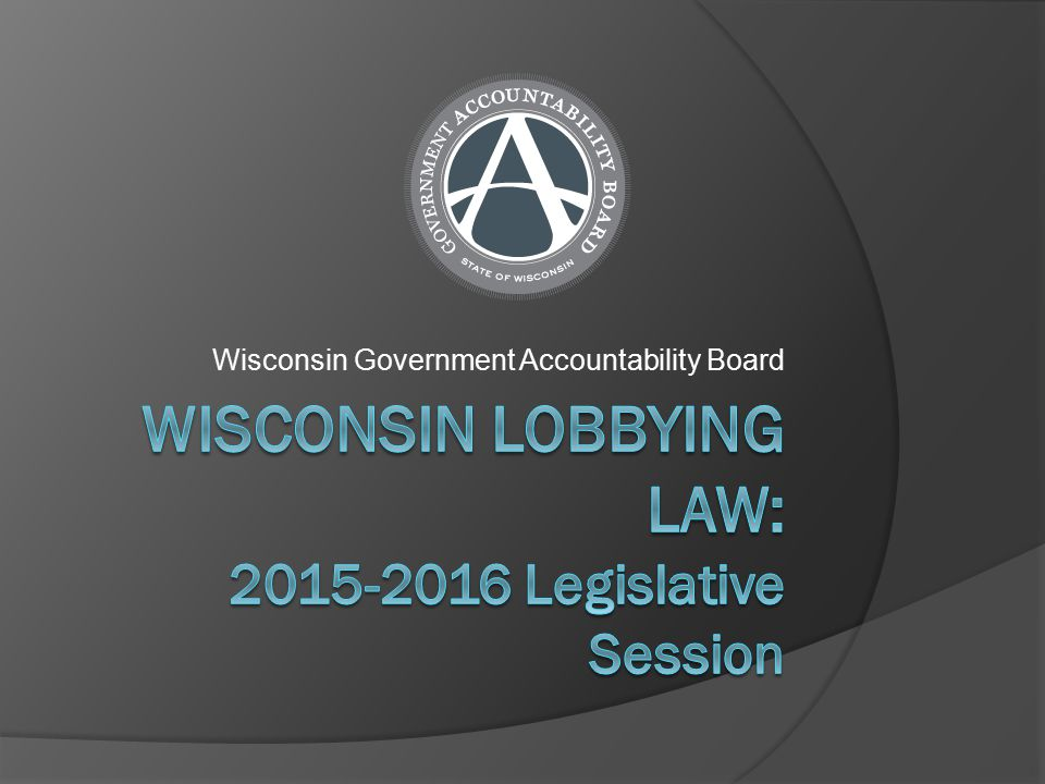Wisconsin Government Accountability Board
