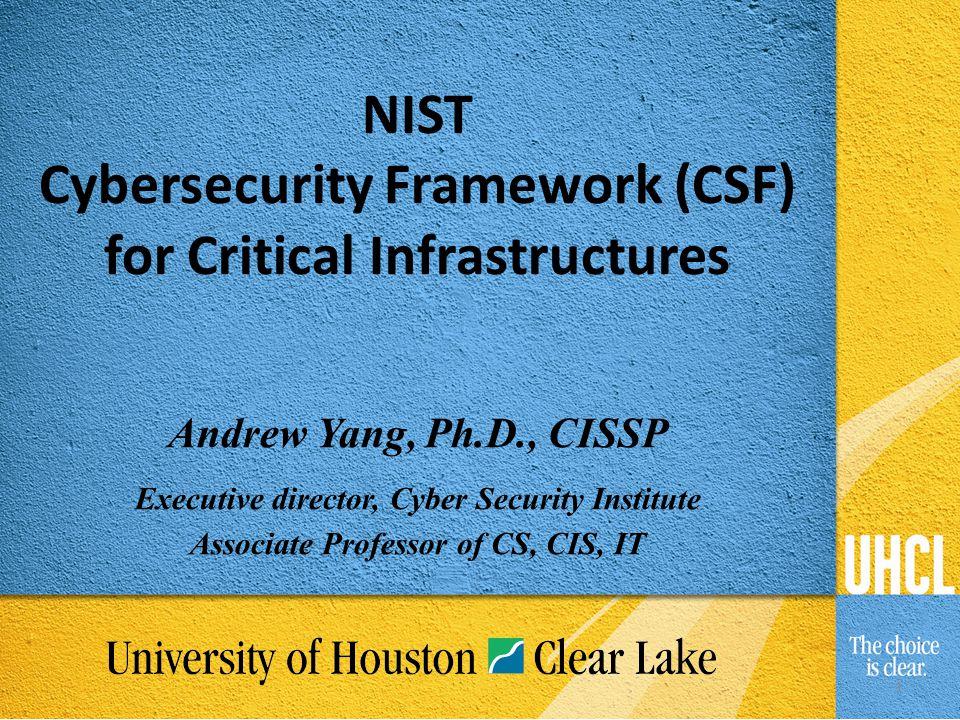 2 Cybersecurity Framework is dead. Really.