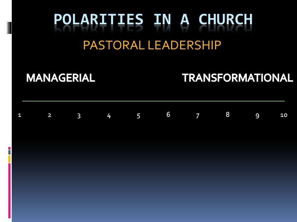 PASTORAL LEADERSHIP 123456789 10