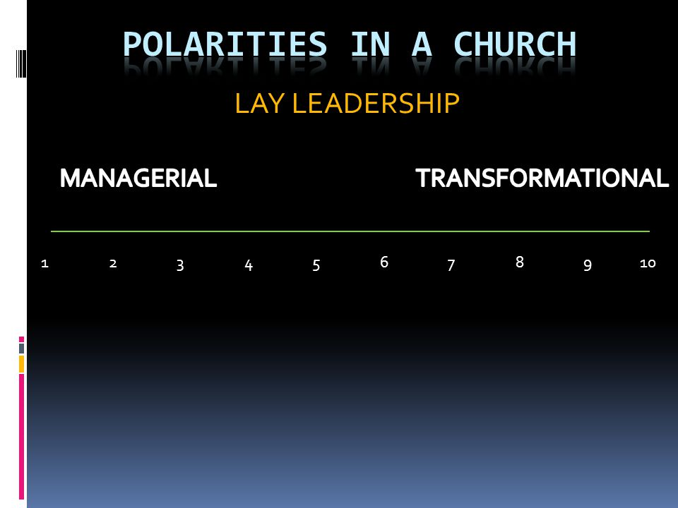 Lay/Clergy Leadership Issues Church Pastor